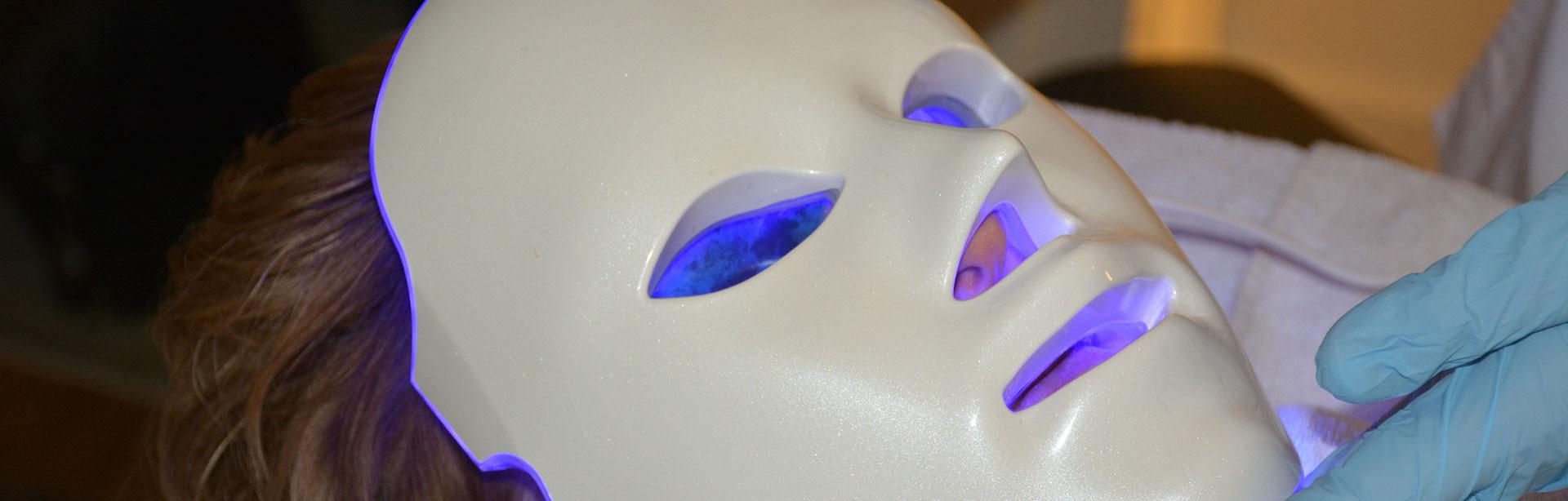 Ledmasker behandelingen
